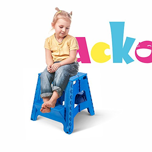 Acko 2 In 1 Dual Purpose Stool Two Step Ladder Durable