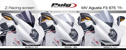 Racingscheibe MV Agusta F3 800 13-19 klar Puig 5651w