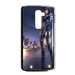 LG G2 Cell Phone Case Black Ghost in the shell Anime JNR2074894