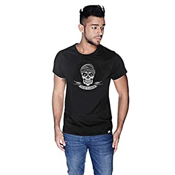 Creo Take Me To Jumeirah Bikers T-Shirt For Men - L, Black