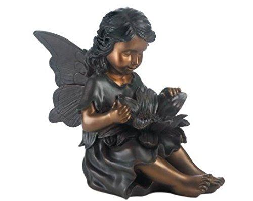 Genial SKB Family Fairy Garden Statue Garden Flower Bronze Polyresin Accent By SKB  Family