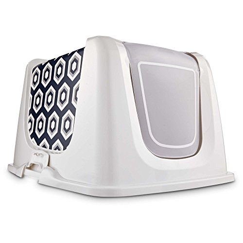 So Phresh Navy Cat Litter Box Privacy Hood, X-Large, Green ()