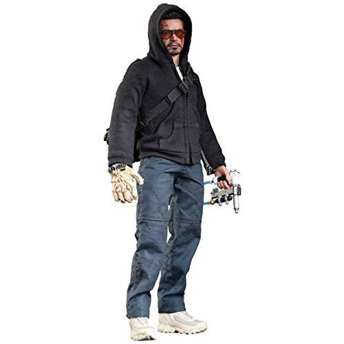 "Hot Toys Movie Masterpiece Series Iron Man 3 - Tony Stark (The Mechanic) Sixth Scale 12"" Figure"