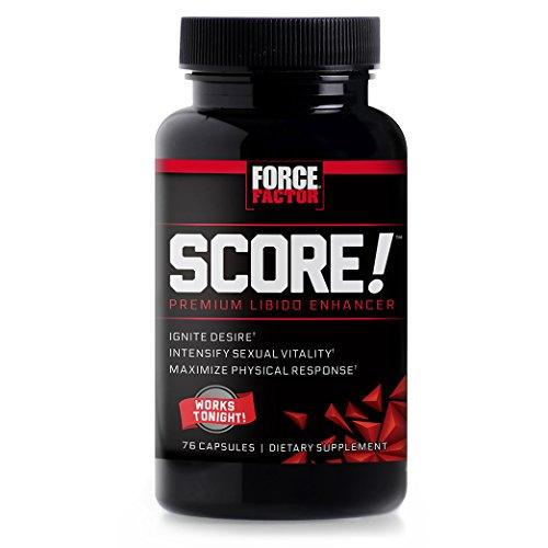 (Force Factor Score! Libido Enhancer with L-Citrulline - Ignite Desire & Maximize Response, 76 Count)