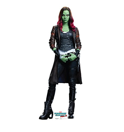 Gamora - Guardians of the Galaxy Vol. 2 (2017 Film) - Advanced Graphics Life Size Cardboard Standup