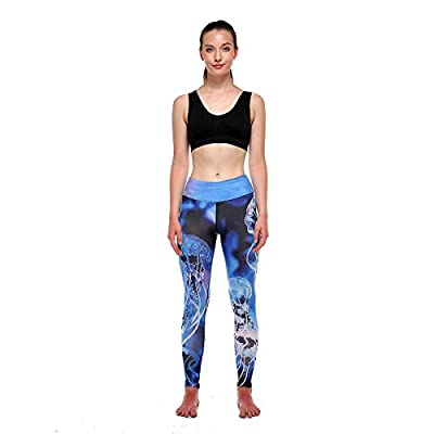 New Yomsong Womens Cute 3D Digital Printed Leggings Yoga Pants hot sale
