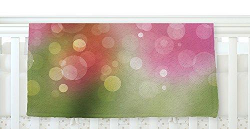 KESS InHouse KESS Original Gypsy Pink Bokeh Fleece Baby Blanket 40 x 30 [並行輸入品]   B077ZSBSWS