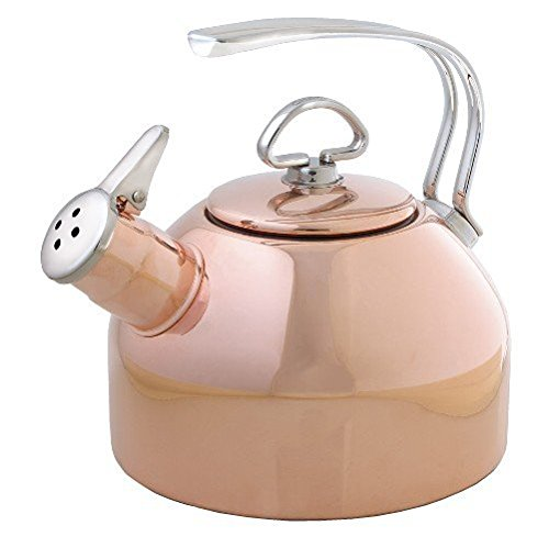 Copper Classic Kettle - Chantal Copper Classic Teakettle-1.8 Quart