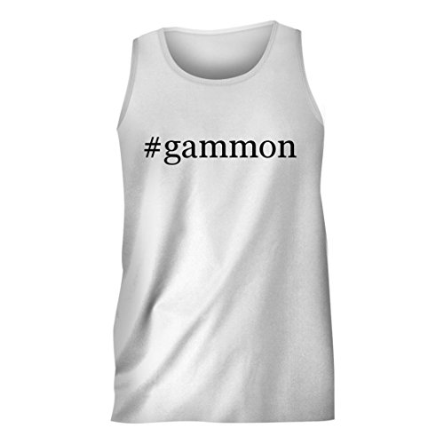 gammon-hashtag-mens-comfortable-humor-adult-tank-top-white-xx-large