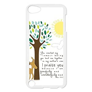 Custom Bible Verse Back Cover Case for ipod Touch 5 JNIPOD5-262