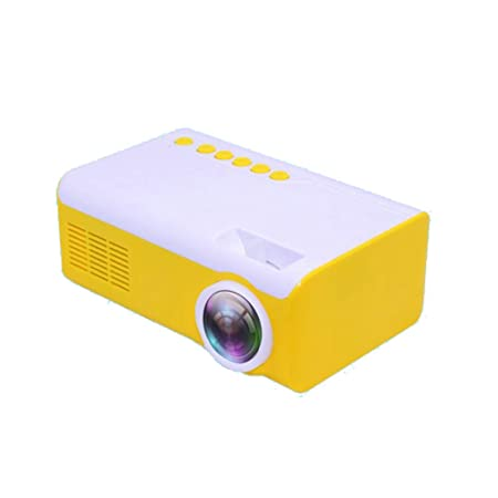 LUOJIE Proyector, Proyector portátil HD 1080P Micro Mini ...