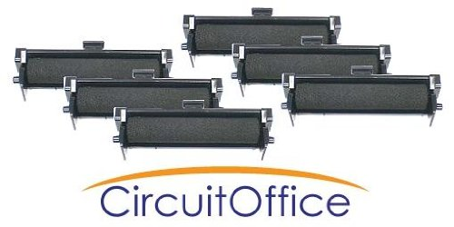 Compatible Seiko IR-74 Purple Ink Rollers , Works for SHARP EL1197GII, SHARP ... -  Acro Print Time Recorder, 01-0249-000