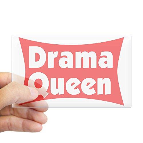 - CafePress Drama Queen Sticker (Rect.) Rectangle Bumper Sticker Car Decal