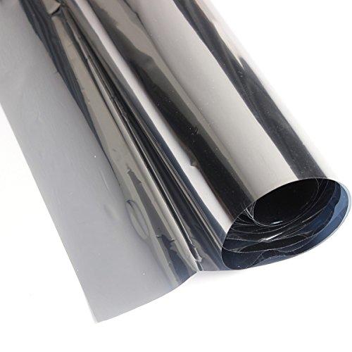 (CocinaCo Reflective Window Film One Way Mirror Film Solar Silver- 50cm x 2m)