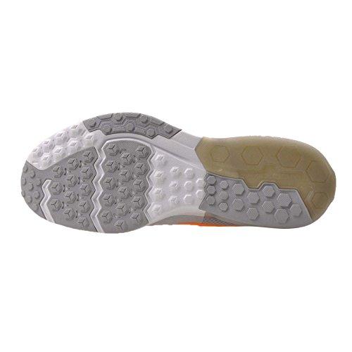 Nike Zoom Treno Action Platino Puro / Brillante Agrume / Lupo Grigio / Grigio Scuro Mens Scarpe Da Allenamento Croce Us 12