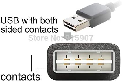 Computer Cables CY USB 2.0 A Type Male to Female Extension Adapter Down /& Up Angled 90 Degree Reversible Design Cable Length: Other