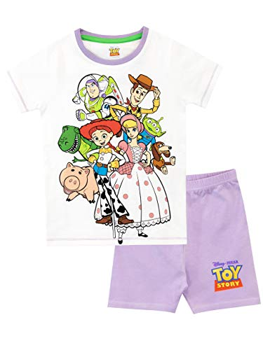 Disney Girls' Toy Story Pajamas Multicolor Size 4 (Jessie Toy Story Clothing)
