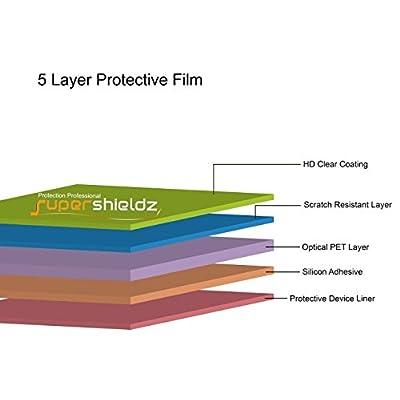 (6 Pack) Supershieldz for Garmin Fenix 3 HR and Fenix 3 Screen Protector, (Full Screen Coverage) 0.23mm High Definition Clear Shield