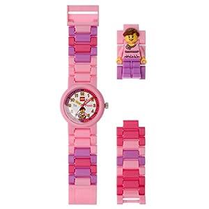 Lego Reloj, diseño Profesor de Tiempo, Color Rosa 9005039 7