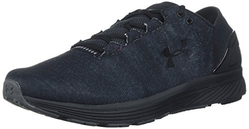 Under Armour Men's Charged Bandit 3 Running Shoe, Black (009)/Stealth Gray, 11