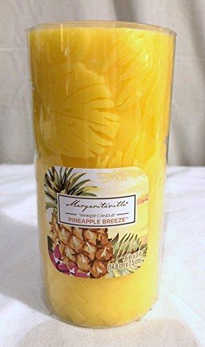 Pineapple Pillar - Yankee Candle Margaritaville Pineapple Breeze 3x6 Pillar Candle Pillar Candle