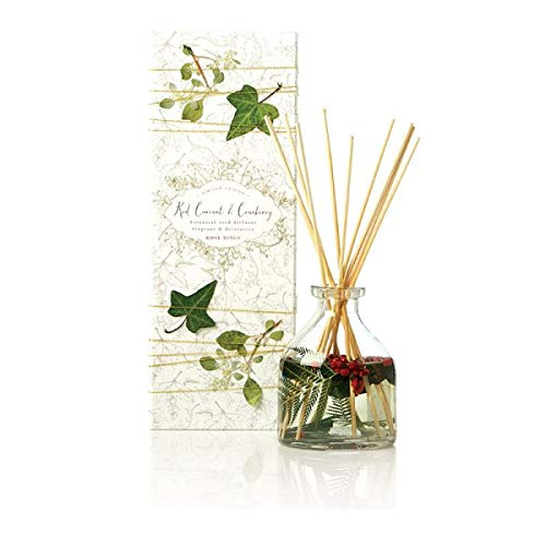 Rosy Rings Petal & Thread Botanical Reed Diffuser – Red Currant & Cranberry