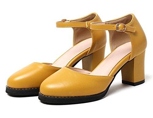 Sandali Con Cinturino Alla Caviglia E Tacco Medio Smeraldo Donna Elegante Easemax