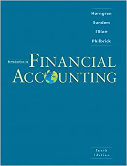 Introduction to Financial Accounting (10th Edition)