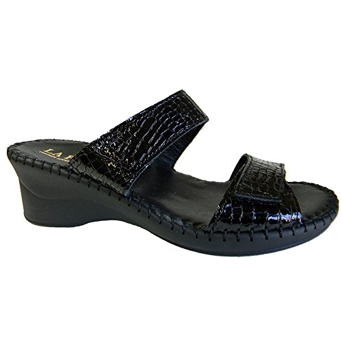 La Plume Nina Womens Sandals, Black, Size - 41 for sale  Delivered anywhere in USA