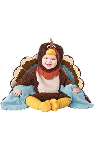 Turkey Thanksgiving Gobble Gobble Animal Infant (Infant Gangster Costumes)