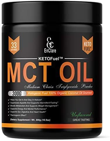 MCT OIL POWDER KETOFuel Supplement