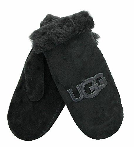 UGG Women's Heritage Logo Mitten Black Multi SM/MD by UGG