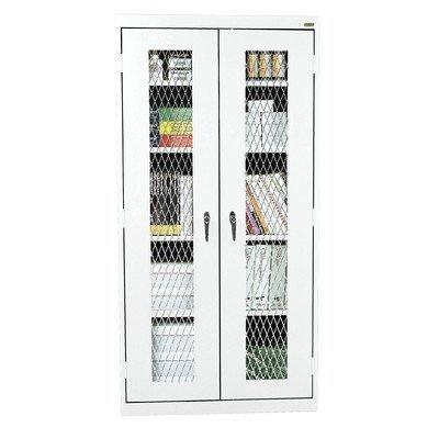 Sandusky Metal (Sandusky Lee CA4M361872-22 Elite Series Expanded Metal Front Stationary Cabinet, White)