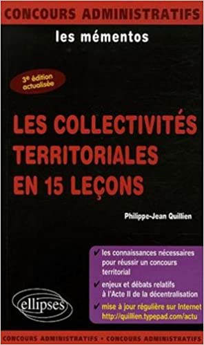 Téléchargement gratuit de livres en ligne sur Google Les collectivités territoriales en 15 leçons 2729826688 en français PDF by Philippe-Jean Quillien