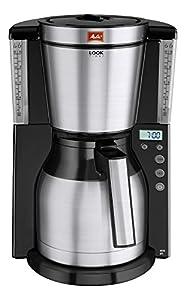 Melitta 101116 Kaffeefiltermaschine Look Therm Timer, Kalkschutz, Timer,...