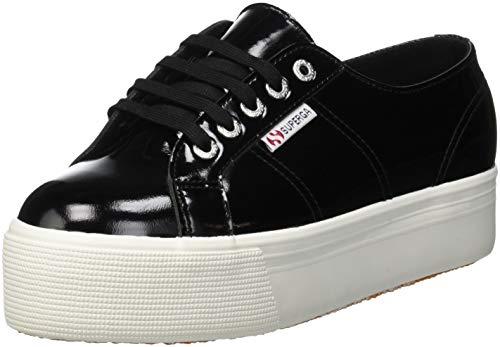 2790 De 999 black leapatentw Negro Mujer Gimnasia Zapatillas Para Superga d7BTZqwd