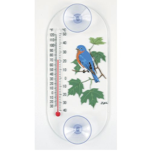Aspects Thermometer (Aspects 203 Bluebird in Maple Window Thermometer)
