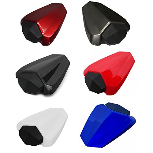 Motorcycle Rear Passenger Pillion Seat Cowl Fairing Cover For Yamaha YZF R1 2009-2014 2010 2011 2012 2013 (Red)