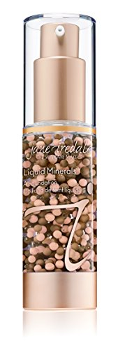 jane iredale Liquid Minerals A Foundation, Suntan, 1.01 oz ()