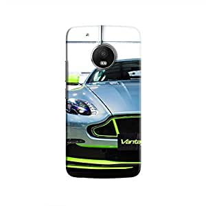 Cover It Up - AM Vantage GT8 Green Moto G5 Hard Case