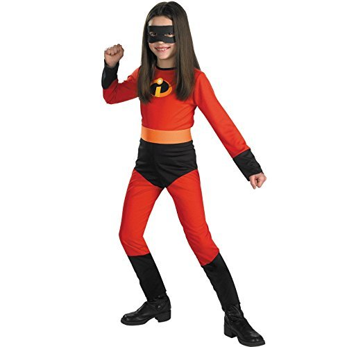 [Disguise Disney The Incredibles Violet Classic Girls Costume, Medium/7-8 by Disguise] (Violet Incredible Costume)