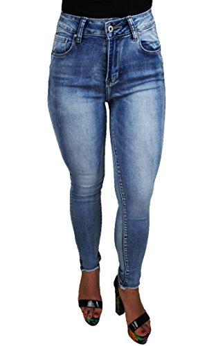 Jeans Bleu Femme Denim S Evoga dYCwqg