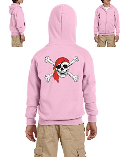 Mom's Favorite Christmas Hoodie Jolly Roger Skull Crossbones Halloween Ugly Sweater Xmas Party Youth Hoodies Zip Up Sweater