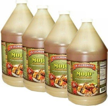 La Lechonera Natural Mojo 1 Gallon Pack of 4