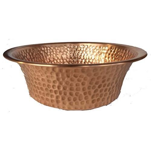 Mini Vessel Copper Bathroom Panning Wash Basin Sink