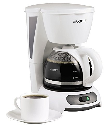 4 cup white coffee maker - 6