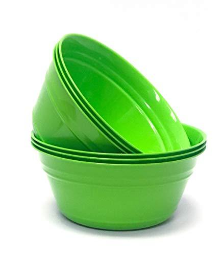 Mintra Home Plastic Snack Bowls (Medium 6pk (1.8L), -