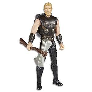 Marvel AVENGERS - Thor - Titan Hero Power FX Action Figure - Kids Super Hero Toys - Ages 4+