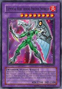 Yu-Gi-Oh! - Elemental Hero Shining Phoenix Enforcer (DP05-EN013) - Duelist Pack 5 Aster Phoenix - 1st Edition - Super Rare - Aster Phoenix Duelist Pack
