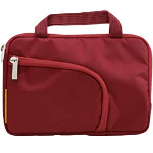 Filemate ECO 7-Inch Tablet Carrying Bag - Dark Red (3FMNG230RD7-R)